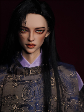 BJD Clothes Boy Exotic Male Suit Gold Outfit Set for SD
